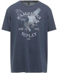 Replay T-shirt - Blue