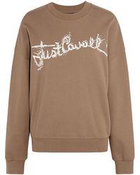 Just Cavalli - Sweatshirt - Lyst
