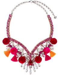 Shourouk Necklace - Red