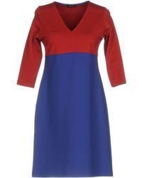 Hanita - Short Dress - Lyst