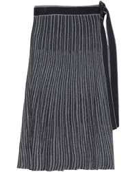 Victoria, Victoria Beckham - 3/4 Length Skirt - Lyst