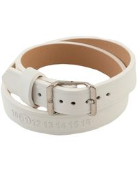 Maison Margiela Armband - Weiß