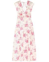 Les Rêveries 3/4 Length Dress - White