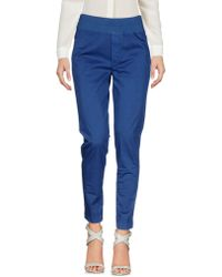 European Culture Casual Trousers - Blue