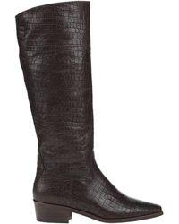 Kanna Knee Boots - Black