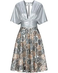 W Les Femmes By Babylon Midi Dress - Multicolour