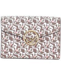 Fendi Brieftasche - Mehrfarbig