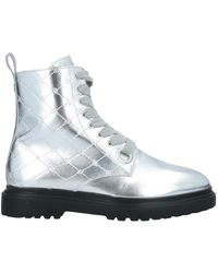 Blumarine Ankle Boots - Metallic