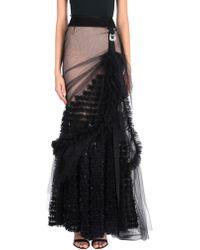 DSquared² Long Skirt - Black