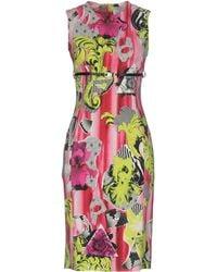 Versace Knee-length Dress - Multicolor