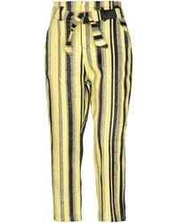 Collection Privée Casual Trouser - Yellow