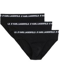 Karl Lagerfeld Brief - Black