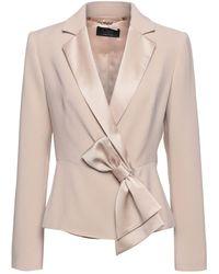 Clips Suit Jacket - Natural