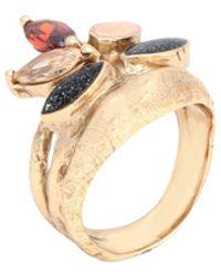 Voodoo Jewels Ring - Metallic