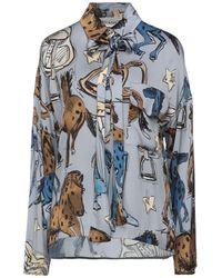 Shirtaporter Camisa - Azul