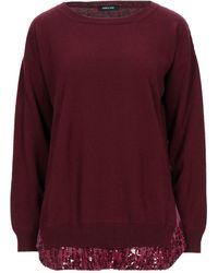 Anneclaire Sweater - Purple