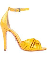 Schutz Sandals - Yellow