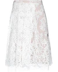 N°21 - 3/4 Length Skirt - Lyst