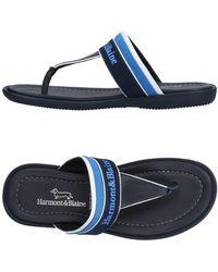 Harmont & Blaine - Toe Strap Sandals - Lyst