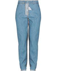 Au Jour Le Jour Denim Pants - Blue
