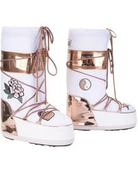 Moon Boot Boots - White