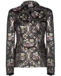 History Repeats Suit Jacket - Black
