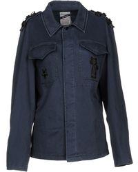 History Repeats Jacket - Blue
