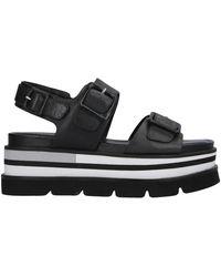 Elvio Zanon Sandals - Black
