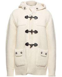 Bark Coat - White
