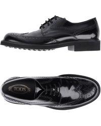 Tod's Zapatos de cordones - Negro