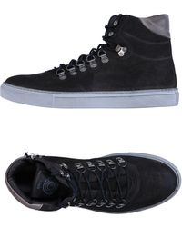Grey Daniele Alessandrini - High-tops & Trainers - Lyst