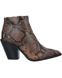 SORELLE PEREGO Ankle Boots - Brown