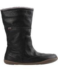 Camper Knee Boots - Black