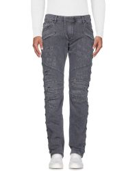 Balmain - Pantaloni jeans - Lyst