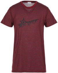 Saint Laurent - T-shirt imprimé - Lyst