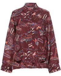 ALEXACHUNG Shirt - Red