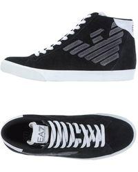 EA7 Sneakers & Tennis shoes alte - Nero
