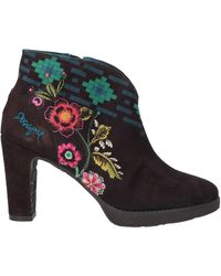 Desigual Ankle Boots - Brown