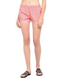 Sundek Pantalones de playa - Rosa