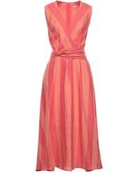 Riani Midi Dress - Pink