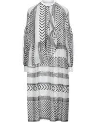 Lala Berlin Midi Dress - White