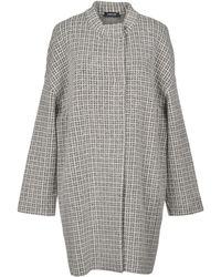 Anneclaire Coat - Gray