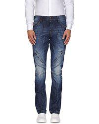 John Galliano - Pantalon en jean - Lyst