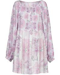 Nolita Short Dress - Purple