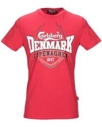 Carlsberg T-shirt - Red