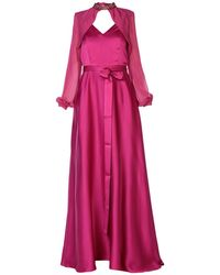 Pinko Vestito lungo - Rosa