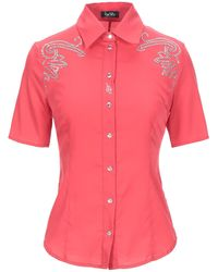 Jeans Tattoo Shirt - Red