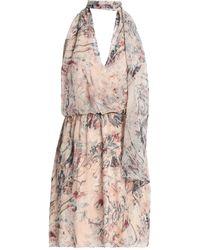 Haute Hippie Midi Dress - Pink