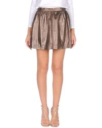 Vintage De Luxe - Mini Skirt - Lyst