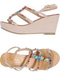 Gardini Sandals - Gray